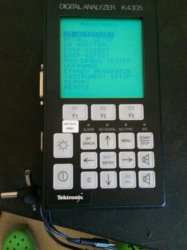Tektronix Digital Analyzer Model K 4305 Powers Up Good