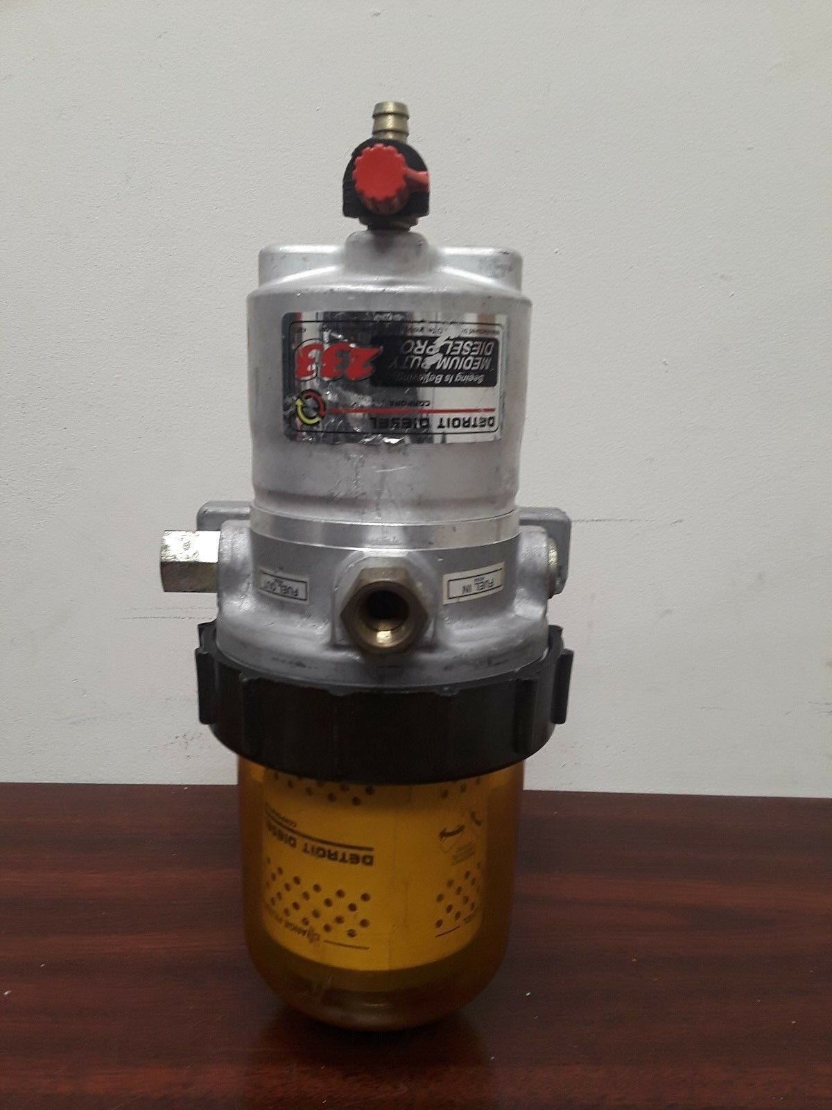 Davco Diesel Pro 230, FUEL FILTER WATER SEPARATOR