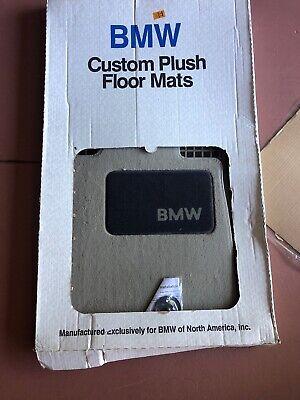 08-13 BMW 128 135 I 128I 135I E82 COUPE Taupe CARPET FLOOR MATS SET 1 Never Used