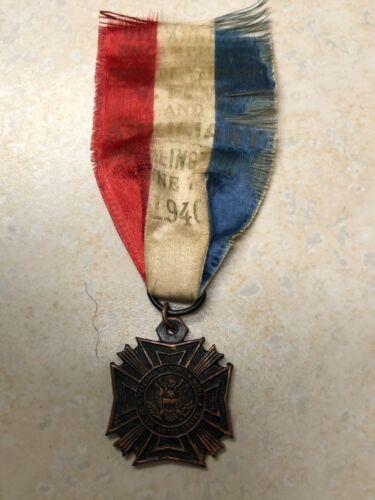 1940 VFW Encampment Medal