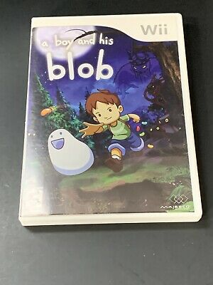 A Boy and His Blob: Trouble on Blobolonia Nintendo Wii Complete With Manual