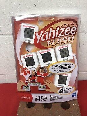 NEW Electronic Yahtzee Flash DIGITAL SMART DICE for sale  Kerkhoven