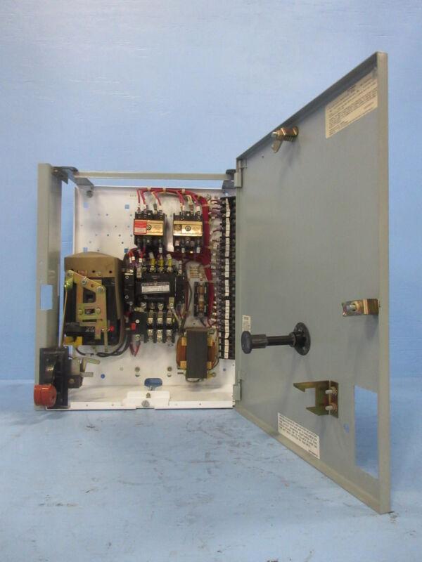 "General Electric GE 8000 Size 1 Starter 30 Amp Breaker Type 18"" MCC Bucket 30A"