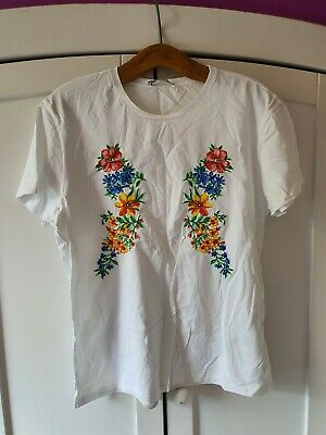 Zara Embroidery Top Used Once Excellent Condition
