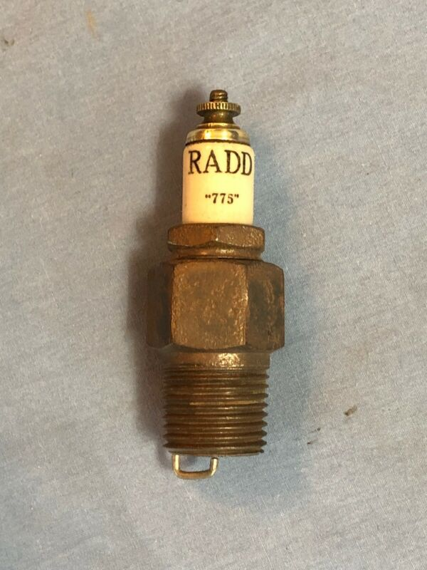 RADD Vintage Antique Spark Plug With Odd Ground Electrode