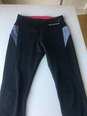 Run 365 Black And Pink Sports / Running Leggings - Size 8, used for sale  Shipping to Nigeria