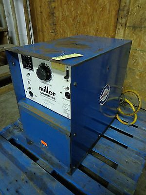 Miller Sr-150-33 Direct Current Welding Machine 12.3 Kva 6.6 Kw 230460 3ph