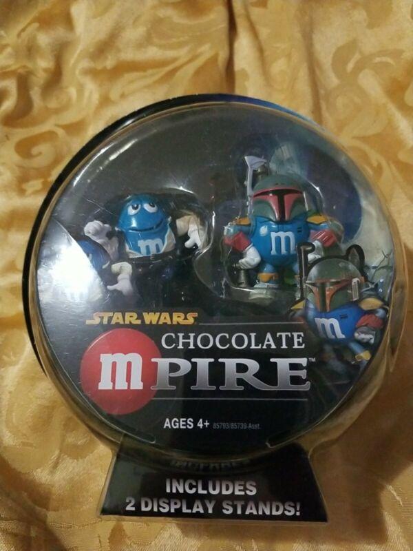 Hasbro Star Wars Chocolate mpire Han solo & Boba Fett Action Figure M&M