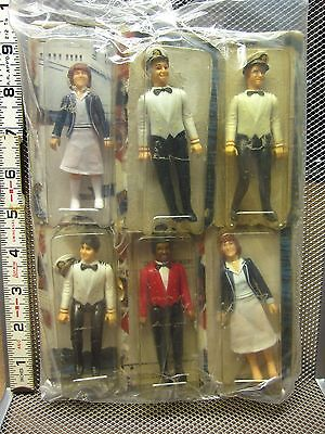 LOVE BOAT beat-up action figures 1981 Whole Set six toys MEGO Stubing Isaac OG - Love Boat Isaac