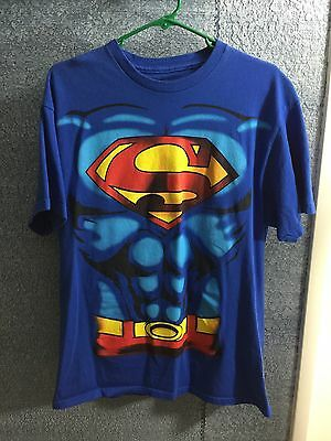 Adults Halloween Costumes Ideas (Superman Muscle T Shirt Halloween Costume Idea Detachable Cape Adult)