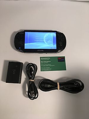Sony Playstation Ps Vita Pch1001 Wi Fi  Oled 3 51 To 3 57 Firmware Promo