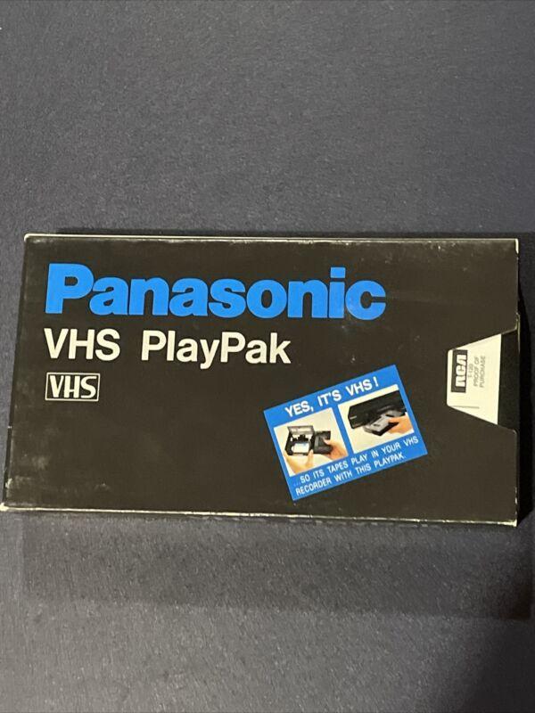 Panasonic VHS PlayPak VHS-C to VHS Motorized Converter Adapter VYMS0068 Tested