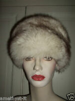 Cappello Hut Hat Colbacco Pelliccia Volpe Bianca Groenlandia Fur Fuchs Fox 58 - fuchs - ebay.it