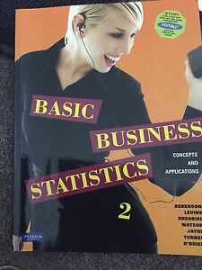 Basic Business Statistics 2 Tennyson Brisbane South West Preview