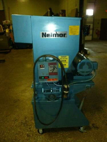 AEC Nelmor Plastic Granulator G1012M1 12 x 10 Industrial 10 HP