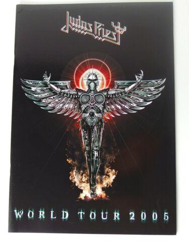Judas Priest Angel of Retribution 2005 Tourbook RARE EX Condition