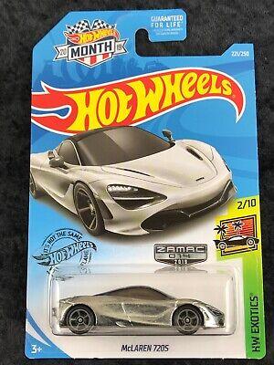 Hot Wheels 2019 Hot Wheels Exotics ZAMAC McLaren 720S