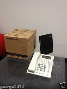 HOME SMALL OFFICE PBX 308 TELEPHONE SYSTEM AND 4 PHONES BRAND NEW