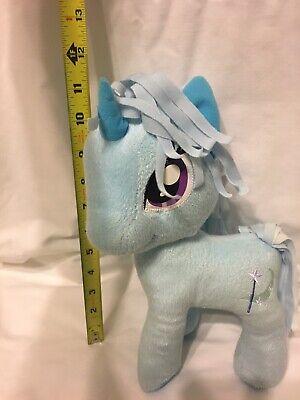 "Used, My Little Pony Trixie Lulamoon blue unicorn Stuffed plush toy 11"" Moon Wand for sale  Conway"