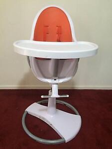 Bloom Fresco High Chair with Orange Seat Aldinga Beach Morphett Vale Area Preview