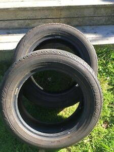 2 Dunlop 175/65R15 All Season Tires
