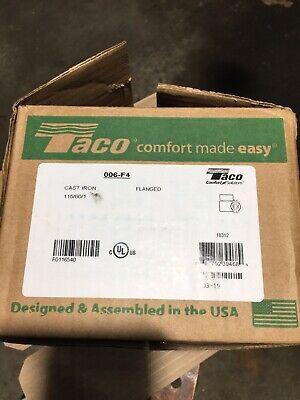 Taco 006-f4 Cast Iron Cartridge Circulator Pump 140 Hp