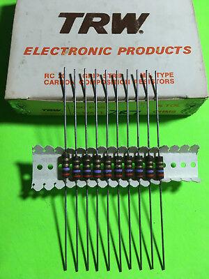 Trw 12w Carbon Composition Resistor Carbon Comp 510pc You Pick Value Usa