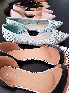 Shoe Flats x5 - Size 71/2 -8 Ngunnawal Gungahlin Area Preview