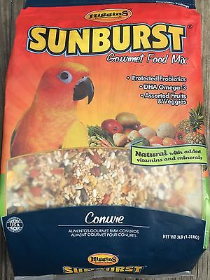 Higgins Sunburst Conure bird food 3lb