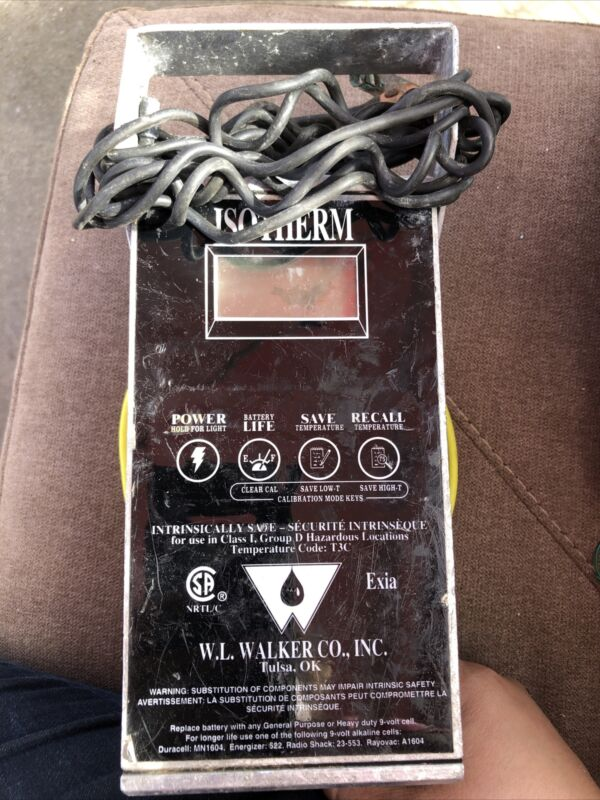 W.L. Walker Isotherm Digital Thermometer