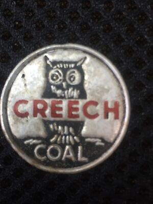 "COAL MINE SCATTER TAG  ""CREECH"" TRADE NAME FOR CREECH COAL CO TWILA KY HARLAN CO"