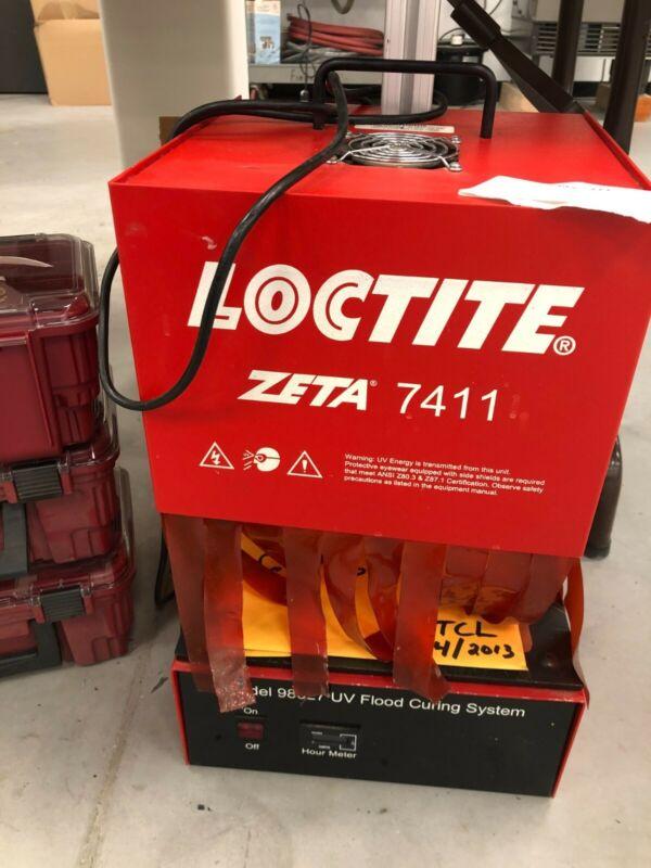 Loctite Zeta 7411 UV Flood Curing System Halide UV Good Condition