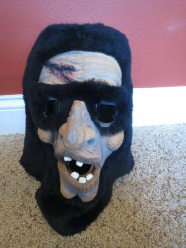 Vintage Topstone  Adult Halloween Mask Hooded Executioner RARE