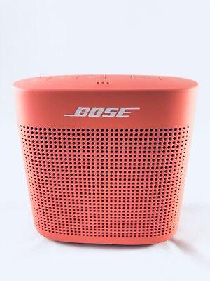 Bose SoundLink Color II Bluetooth Speaker Red New $108.99