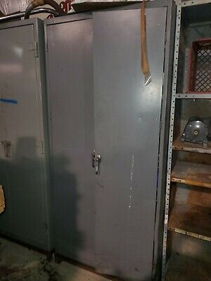 Tennsco Steel Storage Cabinet 36 X 24 X 80 W6 Shelves