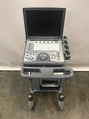 Ge Logiq I Portable Ultrasound Ref 5190012 Year 2007 W Docking Cart 5252431