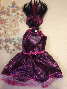 Monster high draculaura costume 8-10