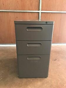Grey filing cabinet Chatswood West Willoughby Area Preview