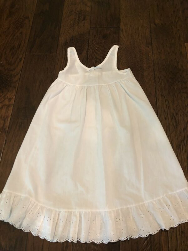 JC Collections Little Girls Under Slip With Eyelet Trim 4