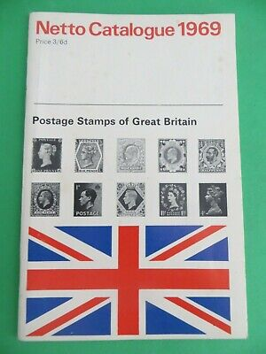 Netto Catalogue  1969  Postage Stamps of Great Britain