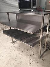 Stainless Steel Chip / Burger Dump Shelf Perth Region Preview