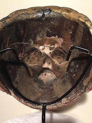 Antique, ca1890-1910, Ethnographic, Wooden Mask Guatemala (Guatemalan)