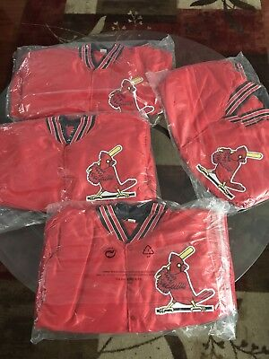 St. Louis Cardinals 80s themed Jacket 9/14/18 80's Night Theme SIZE  XL