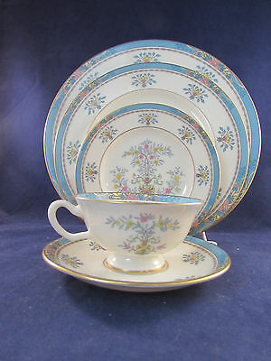 20Pc Set   Lenox China Blue Tree Service For Four