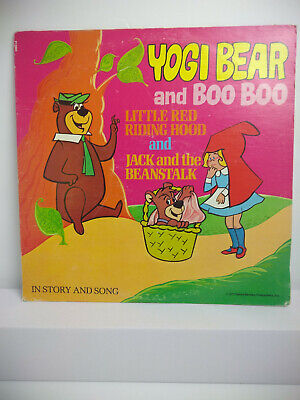 Yogi Bear and Boo Boo Story Album: Little Red Riding Hood