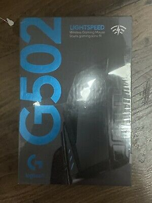 Logitech G502 Lightspeed Wireless Gaming Mouse 16000dpi Black New