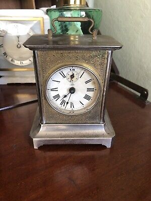 Jungens Carriage Clock Striking Alarm 30 Hour Movement c1920