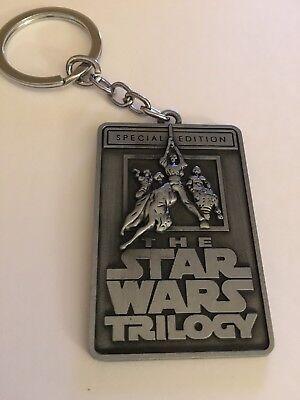 The Star Wars Trilogy Logo Keychain  Us Seller