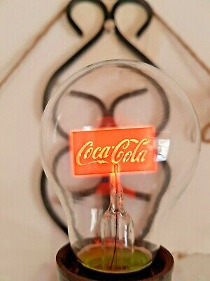 Aerolux Style Neon Glow Lamp Bulb E27 -COCA-COLA- FREE CHIPPING