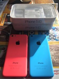 Two iphone 5 C